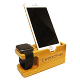 Personalised iPhone & iWatch Stand