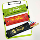 Personalised Book Band Pencil Case