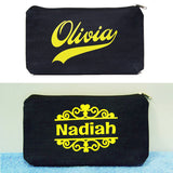 Personalised Denim Pouch