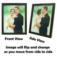 Personalised flip photo frame
