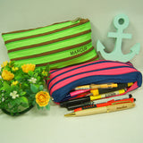 Zippy Pencil Cases with stationaries
