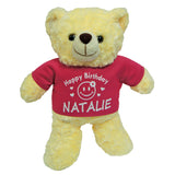 teddy bear with name printing