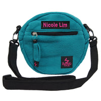 Personalised  Kids sling bag with name embroidery
