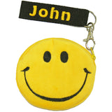 Personalised smiley purse