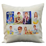 Personalised cushion with photo printing, best birthday and valentine's day gift