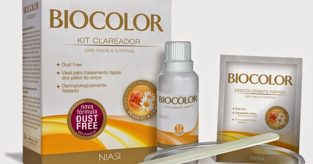 Biocolor Kit Clareador/Descolorante 20g