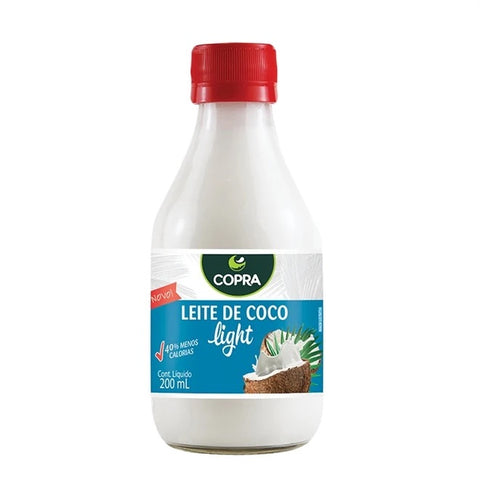 Leite De Coco Light Copra 200ml