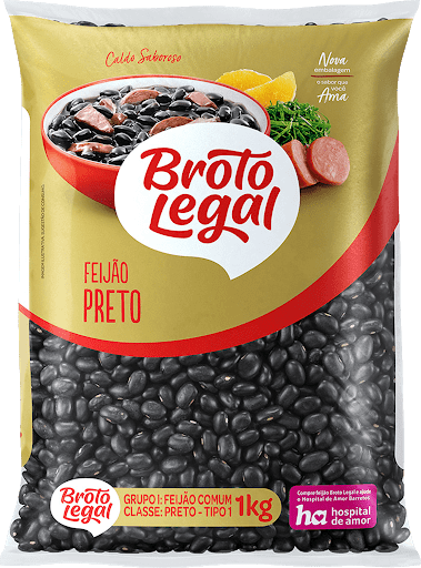 Feijão Preto Broto Legal 1kg