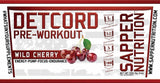 Detcord Pre Workout | Wild Cherry Slushee