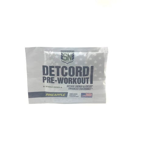 Detcord Pre Workout | Pineapple