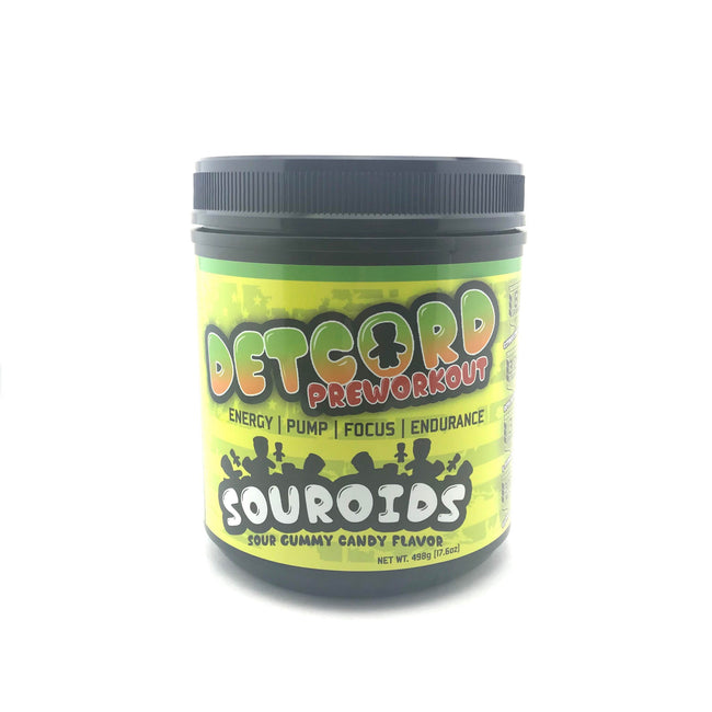Detcord Pre Workout | SOUROIDS