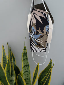 BOTANICAL JERSEY MASK