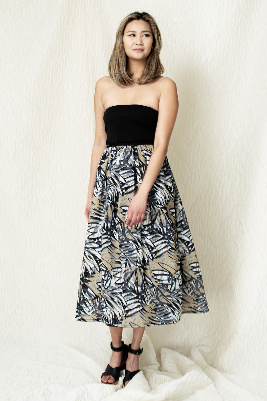 Pareo Cotton Voile Wrap Skirt