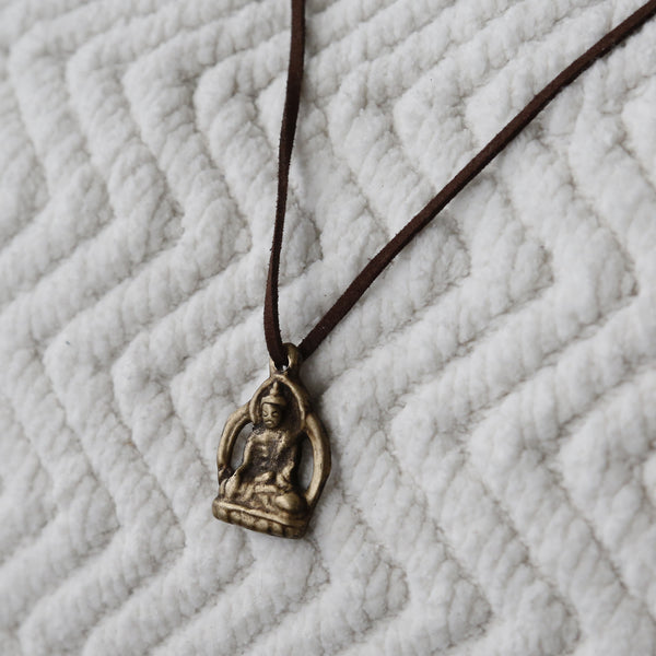 The Glory of Buddha Necklace, Rear View Mirror Charm #11 - ZentralDesigns