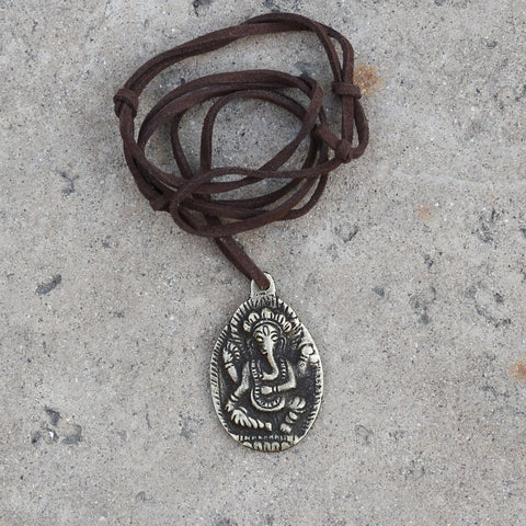 Elephant Buddha Adjustable Necklace, Rear View Mirror Charm, #12 - ZentralDesigns