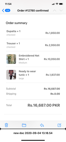 Threads n motifz green ordered medium outfit