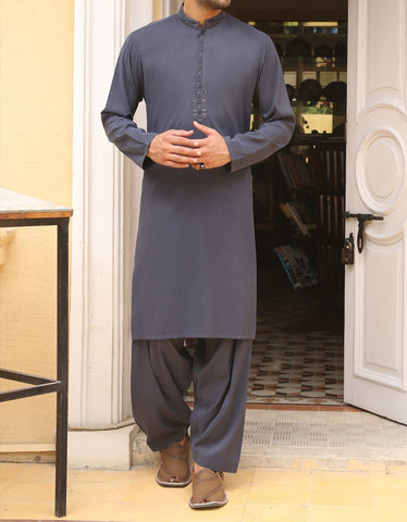 J. Men's blue Salwar Kameez large