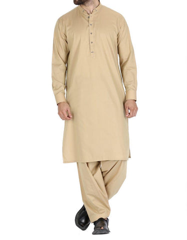 Men's j. Beige Salwar Kameez medium
