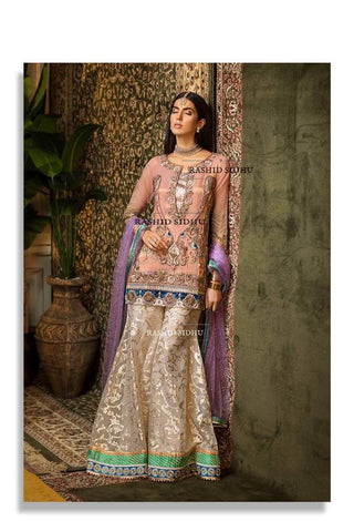 Khuda Baksh small fancy 3 piece suit