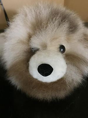 Absolutely Adorable 100% BABY ALPACA Fleece-Covered BABY SEAL!!! LOOK>>>>>>>!