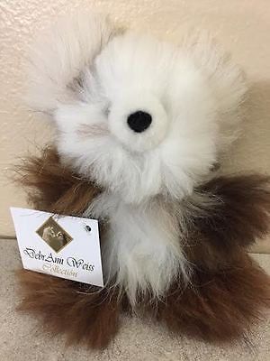 "100% Baby Alpaca TINY 5.5"" Pocket-size Teddy Bear!! SOOO ADORABLE!"