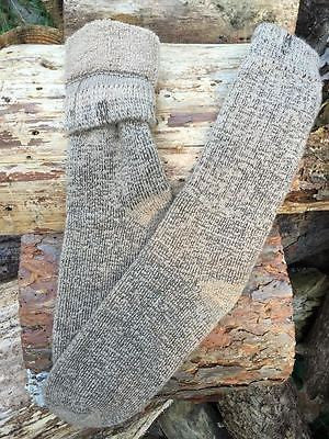 ULTIMATE OUTDOOR ALPACA SOCKS! OATMEAL COLOR, SIZE MEDIUM