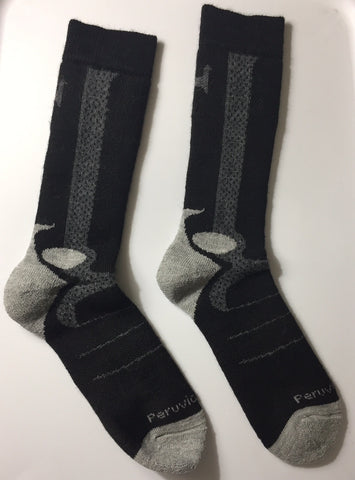 ALPACA MOUNTAINEER SOCKS!! Super Warm SIZE (Women's 5-9, Men's 7-8 1/2)