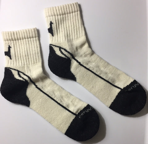Alpaca Short Crew Socks SIZE SMALL-MEDIUM (Women 5-9/Men 7-8 1/2)