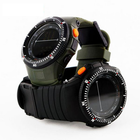 Tactical Multifunctional Shockproof Watch