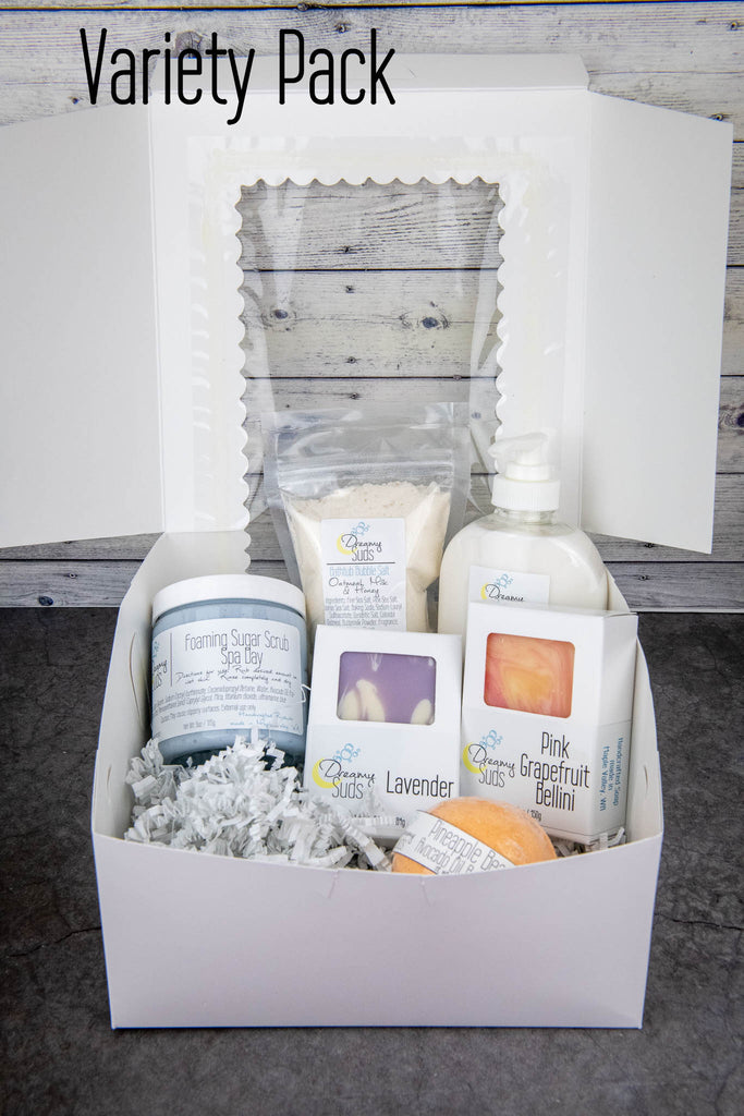 Introducing Dreamy Suds Gift Boxes!