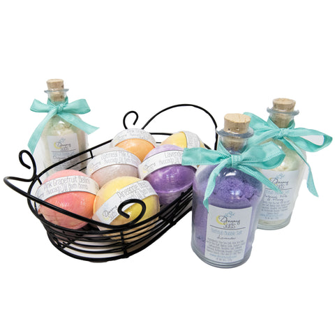 $75 Dreamy Suds Bath Treatment Set