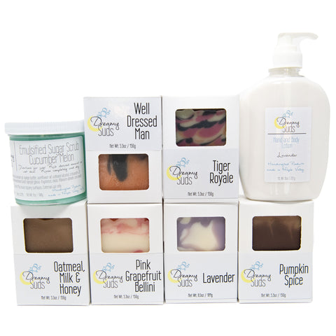 $75 Dreamy Suds Smooth Skin Set