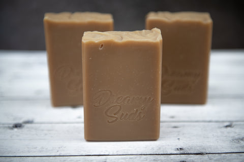 Dreamy Suds Handcrafted Oatmeal Milk and Honey artisan soap