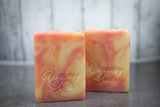 Summertime Handcrafted Artisan Soap - Pink Grapefruit Bellini