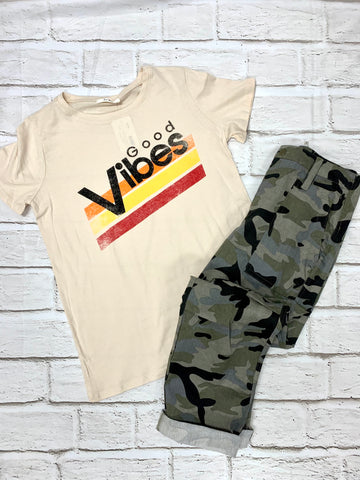 Natural Good Vibes Tee-TRES BIEN-Sunshine Boutique Camden TN