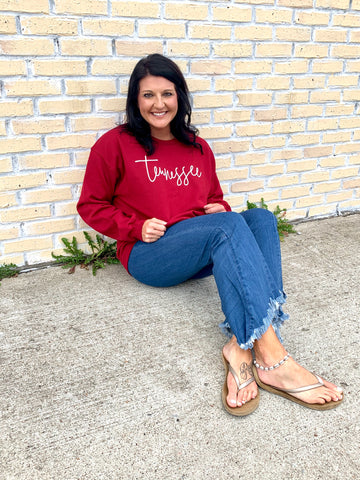 Tennessee Sweatshirt-SOUTHERN MADE TEES-Sunshine Boutique Camden TN