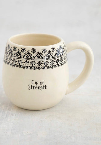 Cup of Strength Mug-NATURAL LIFE-Sunshine Boutique Camden TN