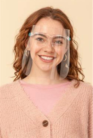 Faceshield with glasses-HYFIVE-Sunshine Boutique Camden TN