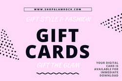 Gift The Glam At ShopGlamRock | Gift Cards