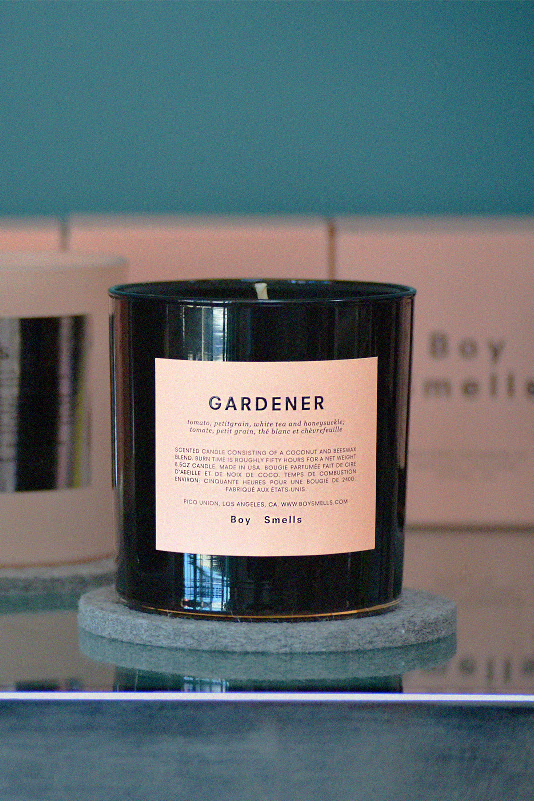 Boy Smells Studio Visit Gardener Candle