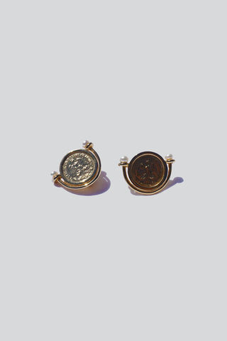 HEIRLOOM COIN EARRINGS