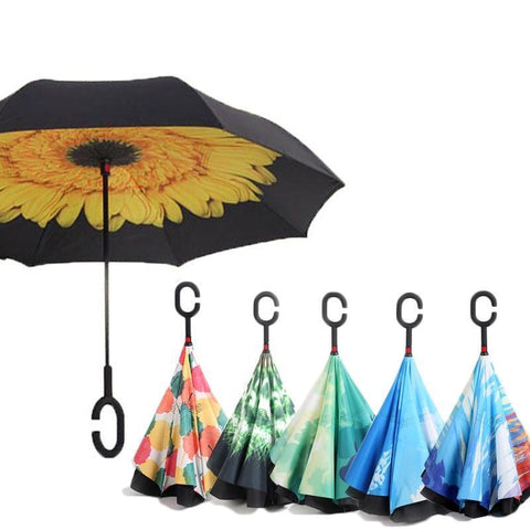 Best Reverse Umbrella: Inverted umbrella, reverse folding umbrella - venerandum