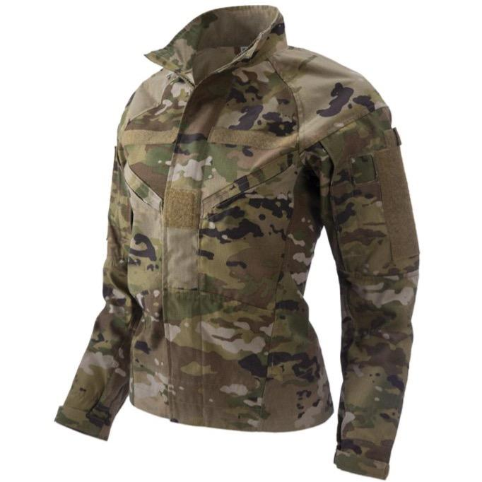 OCP; 2-Piece Flight Suit Jacket-Military Women's Fit (FR)-HCC Tactical
