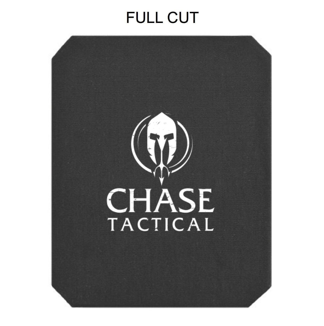 Chase Tactical 4SAS7 Level IV Rifle Armor Plate NIJ 04/05 Certified-DEA Compliant (SINGLE CURVE) Full Cut - HCC Tactical