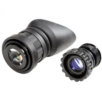 Black; AGM Global Vision AGM 51 degree FOV Lens Kit PVS-14/PVS-14 Omega - HCC Tactical