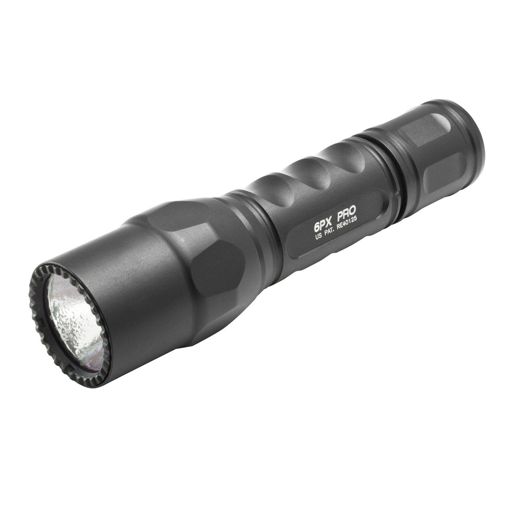 Black; Surefire 6PX TACTICAL - SingleOutput LED Flashlight - HCC Tactical
