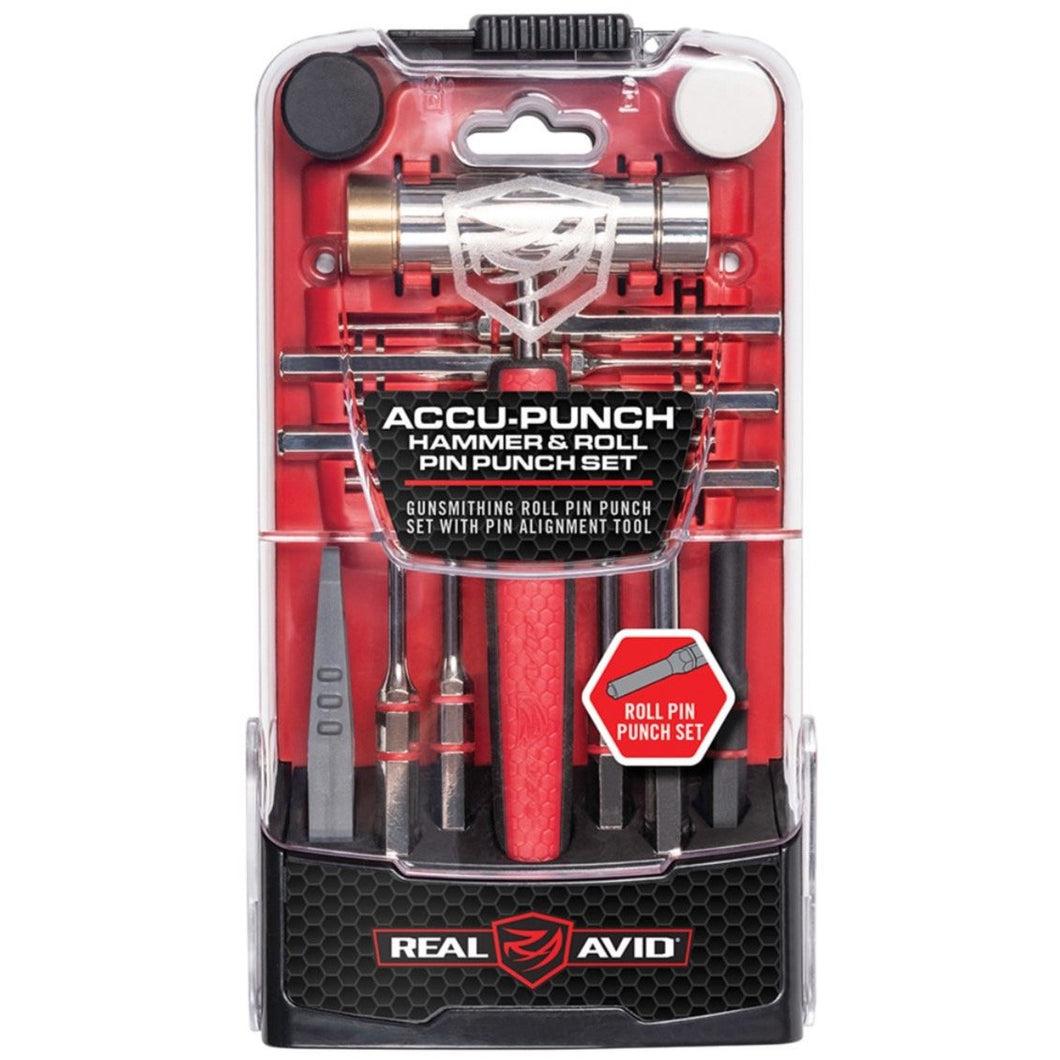 Real Avid - Accu-Punch Hammer & Roll Pin Punch Set - HCC Tactical