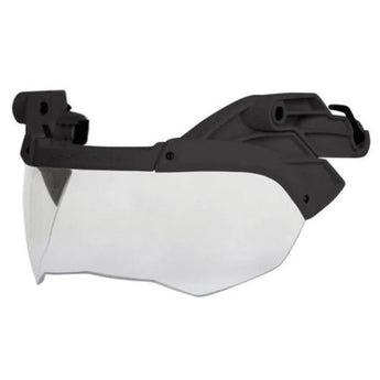 Black; Ops-Core ACH / TBH Visor - HCC Tactical
