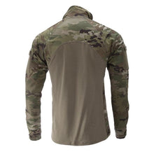 alt - MultiCam; Massif - Advanced Quarter Zip Combat Shirt (FR) - HCC Tactical