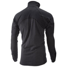 alt - Black; Massif - Advanced Quarter Zip Combat Shirt (FR) - HCC Tactical
